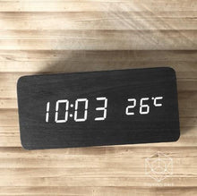 Wooden Led Alarm Clock Accessories