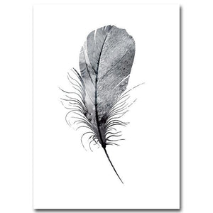Wall Print Art - Minimalist Monochrome Artifact
