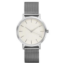 Stainless Steel Mesh Watches Silver Watche