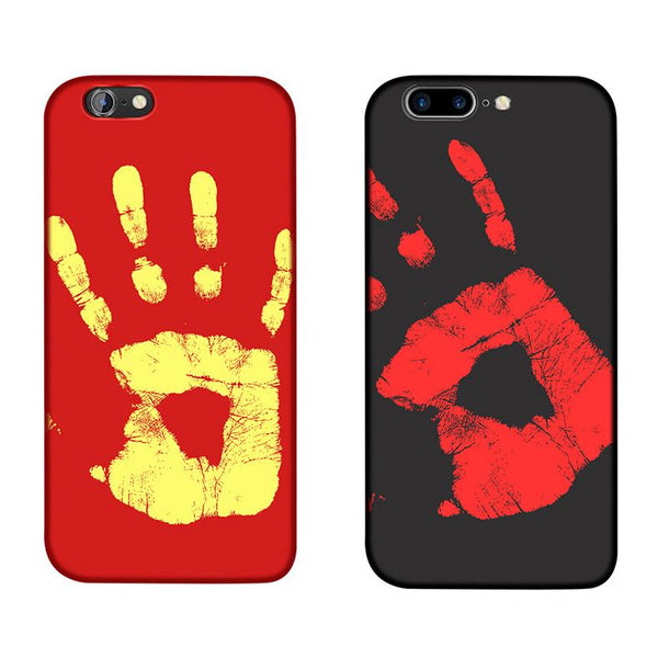 Thermo color changing phone case