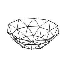 Geometric Iron Basket