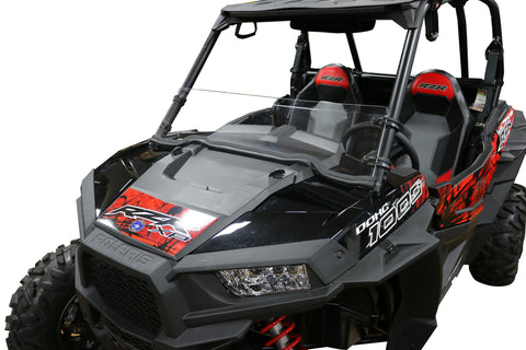 BMM Polaris RZR Half Windshield