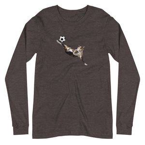BICYCLE CAT LONG-SLEEVE TEE
