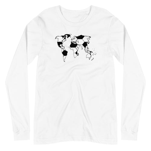 SOCCER MAP LONG-SLEEVE TEE