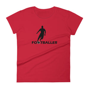 FOOTBALLER WOMEN'S SHORT-SLEEVE TEE