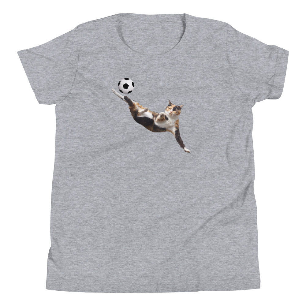 BICYCLE CAT YOUTH SHORT-SLEEVE TEE