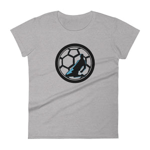 KNEE SLIDE WOMENS SHORT-SLEEVE TEE