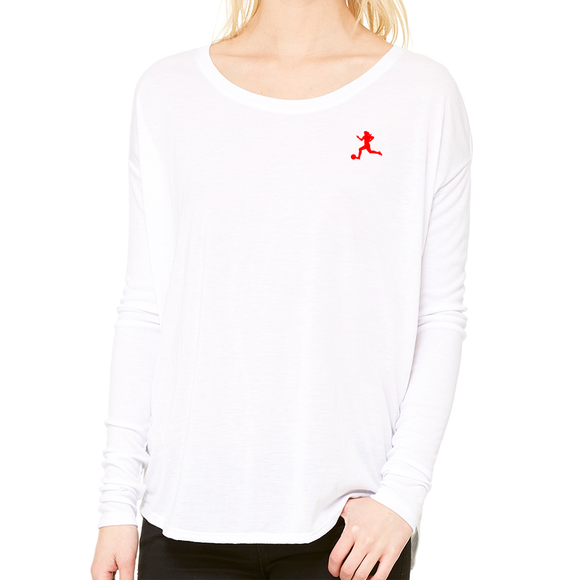 Break Away Flowy Long Sleeve Tee