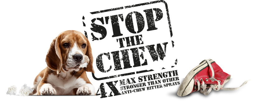 Stop the Chew: 4x Max Strength header