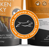 Premium Chicken Jerky Dog Treats