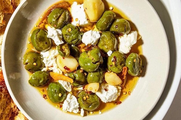 Holiday Recipe: Marinated Olives and Feta