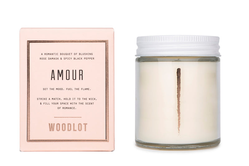 Amour — 8oz Candle - woodlot-usa