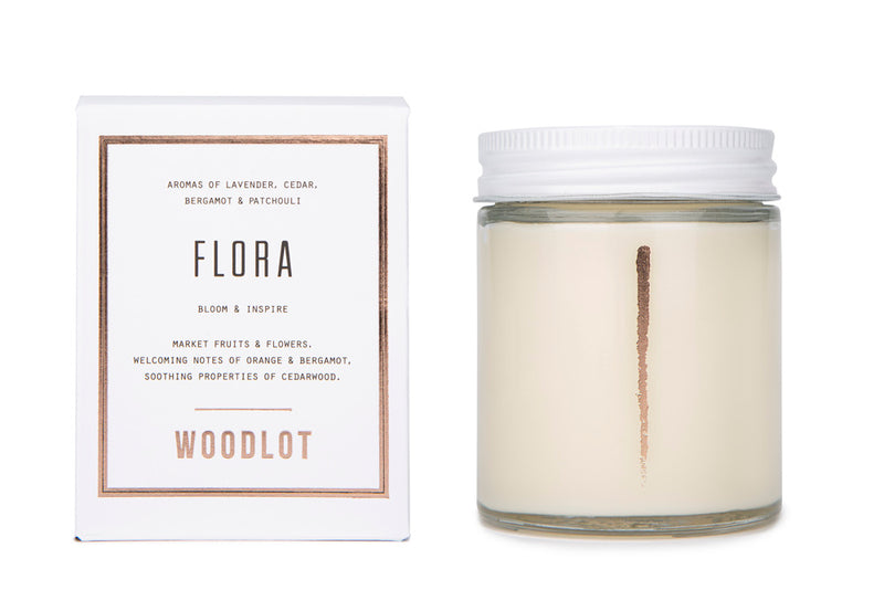 Flora — 8oz Candle - woodlot-usa
