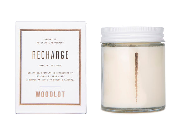 Recharge — 8oz Candle - woodlot-usa