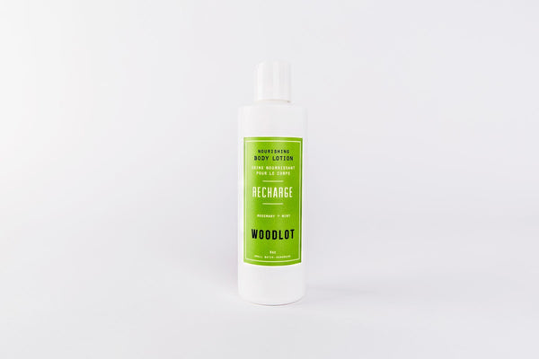 Recharge — 8oz Lotion - woodlot-usa