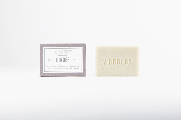 Cinder — 4oz Soap Bar - woodlot-usa