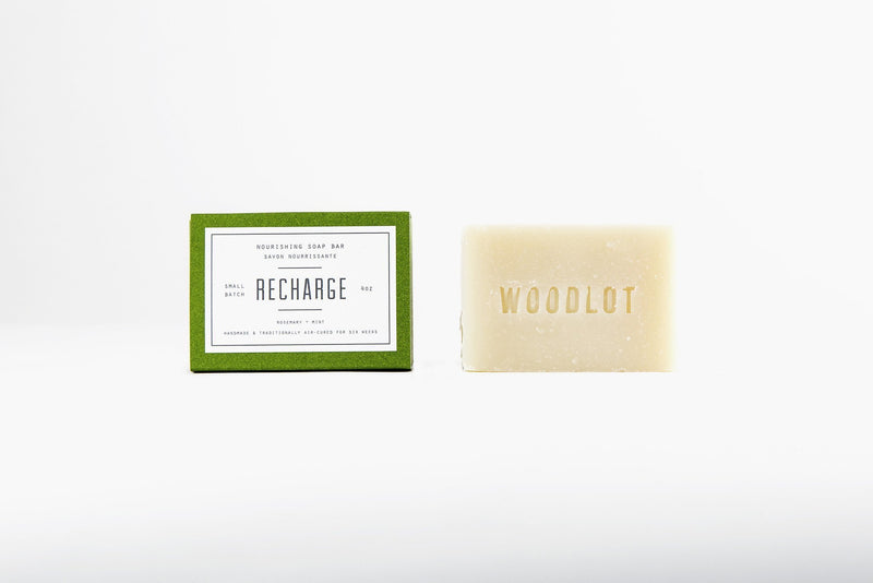 Recharge — 4oz Soap Bar - woodlot-usa
