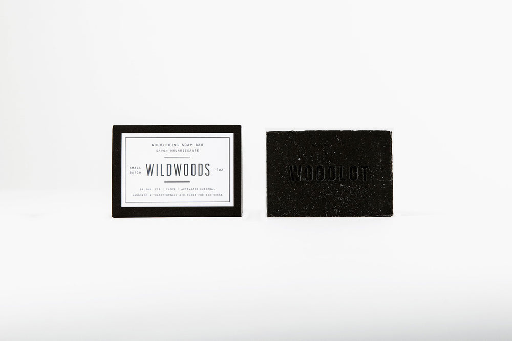 Wildwoods Charcoal — 4oz Soap Bar - woodlot-usa