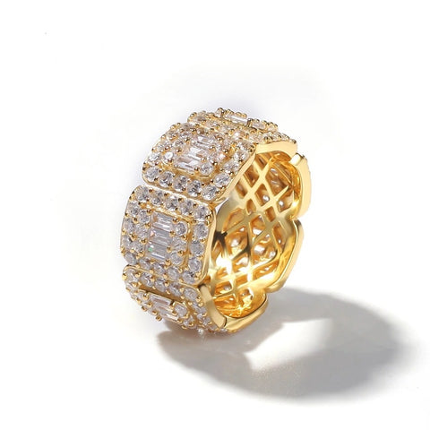 Gold Cuban Ring