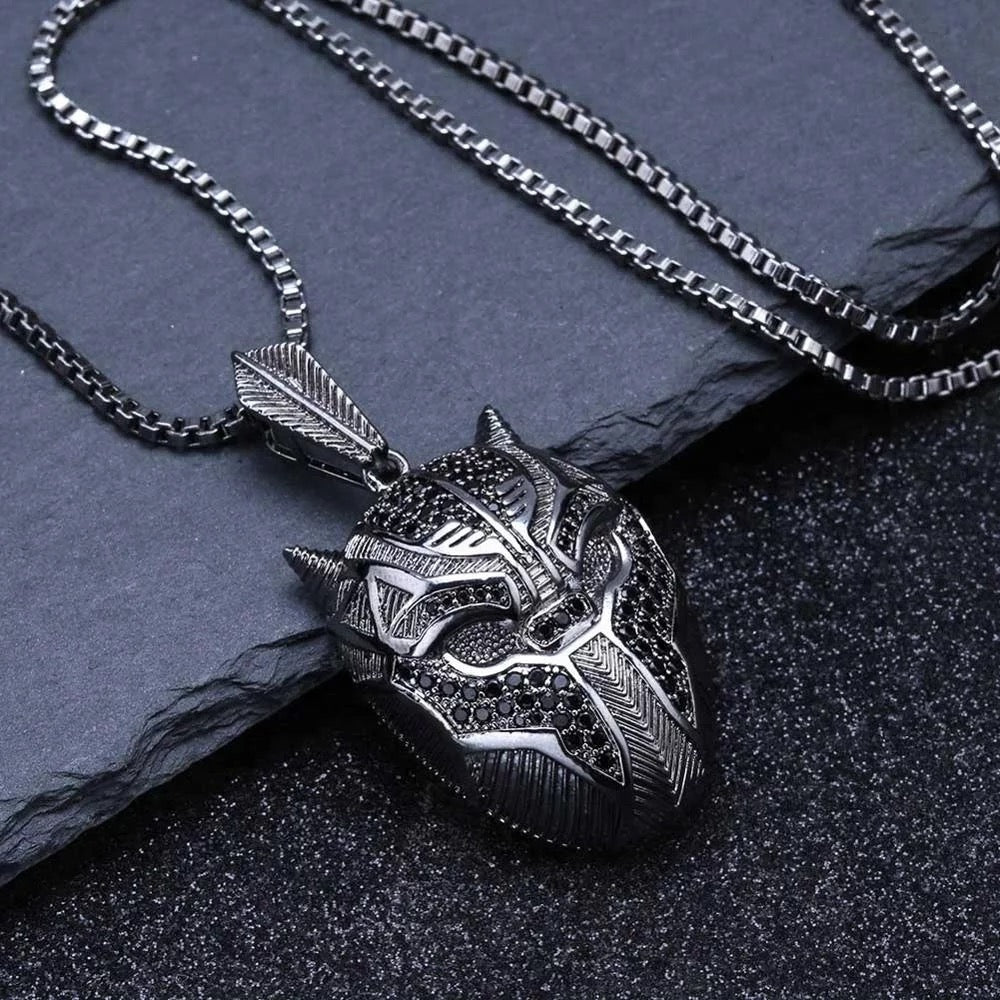 Black Panther Diamond Pendant