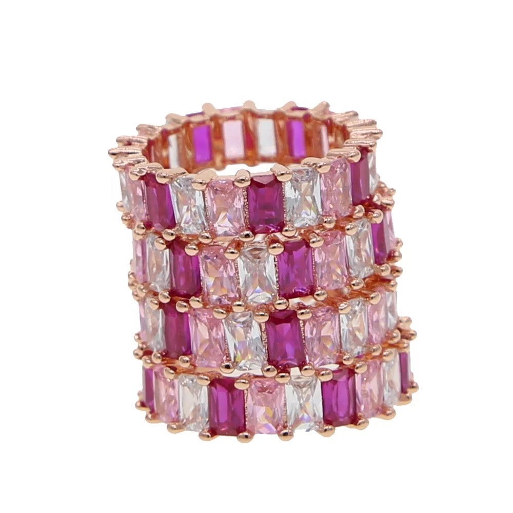 Pink Diamond Shades Ring