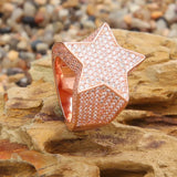 Diamond Star Gold Ring
