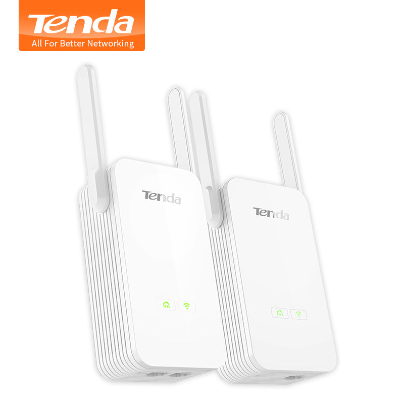 Tenda 1000mbs powerline+wifi extender combo - freshsolution