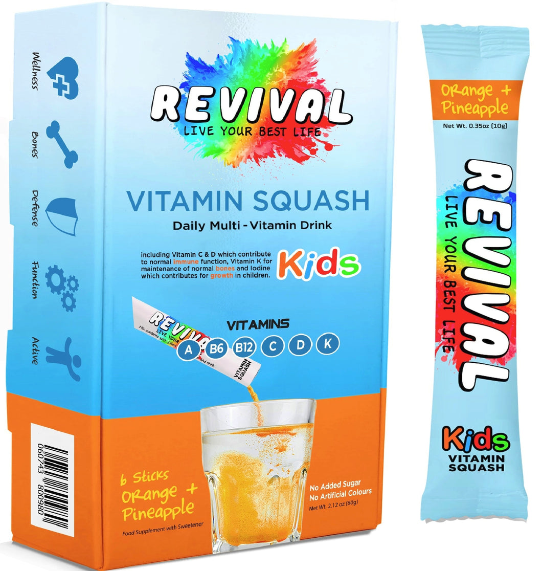 Revival Kids Multi-Vitamin Squash