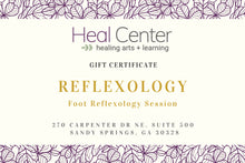 Reflexology Gift Certificates