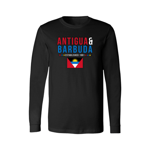 Antigua & Barbuda Long Sleeve Shirt - Women's - Unuheritage