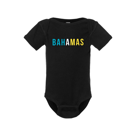 Bahamas Short Sleeve Onesie - Babies & Toddlers - Unuheritage
