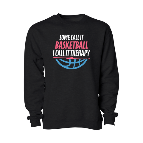 Ball Is Therapy Crewneck - Adult - Unuheritage