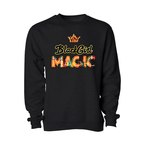 Black Girl Magic Crewneck - Adult - Unuheritage