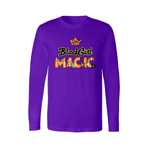 Black Girl Magic Long Sleeve Shirt - Kids - Unuheritage