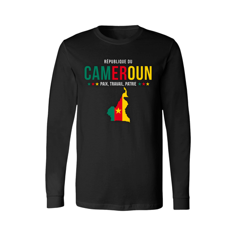 Cameroon Long Sleeve Shirt - Women's - Unuheritage