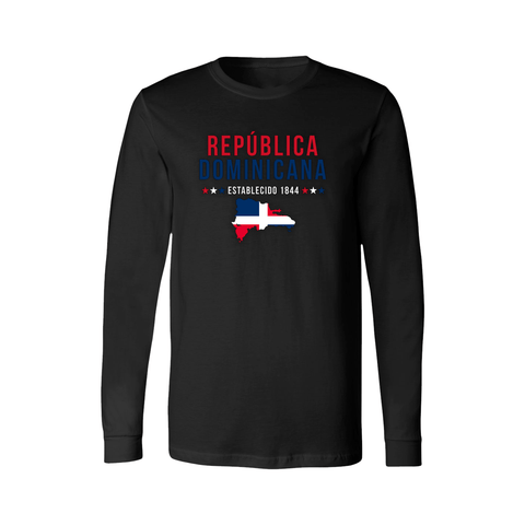 Dominican Republic Long Sleeve Shirt - Women's - Unuheritage