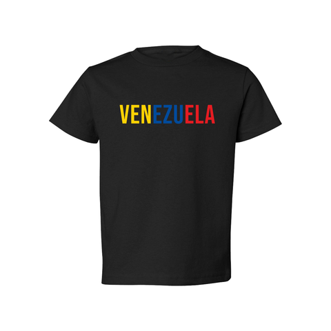 Venezuela Short Sleeve Shirt - Babies & Toddlers-Unuheritage
