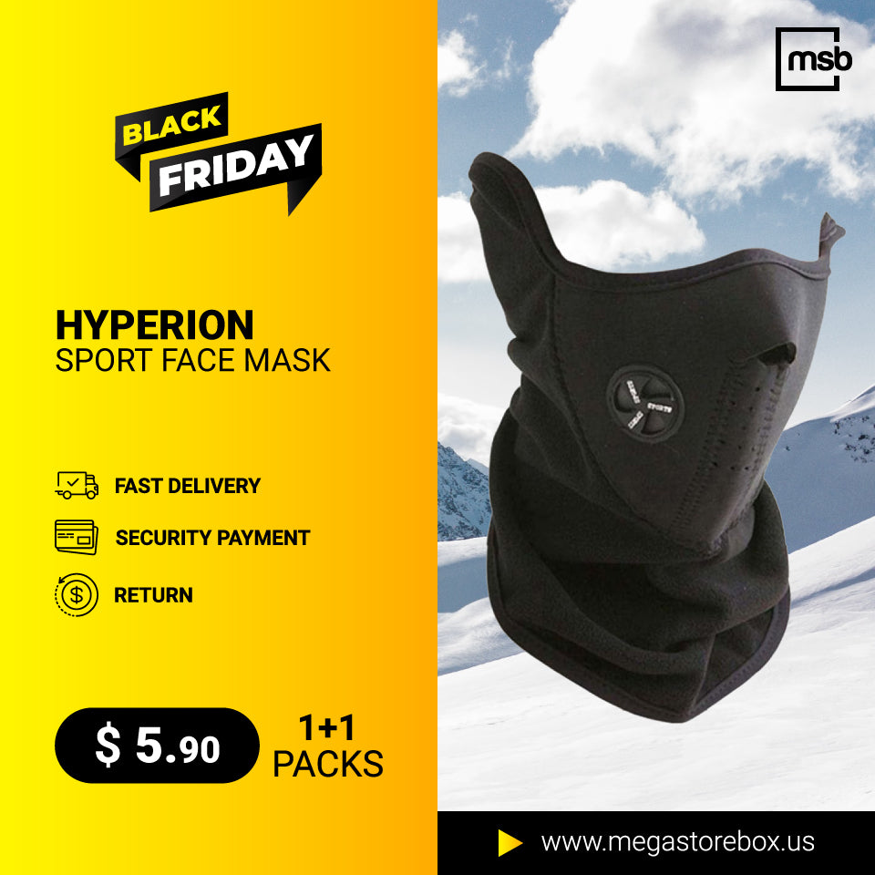 BUY 1 + GET 1 -Hyperion Face Mask Windproof & Anti-dust Mask