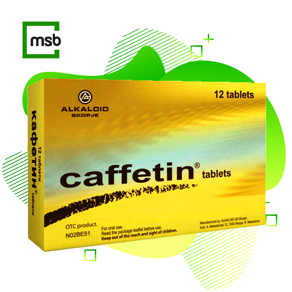 10 X  CAFFETIN Pills Pain Relief Pain Tablets Pain Killer  headache, toothache, migraine,neuralgia,ishialgia,muscular pain