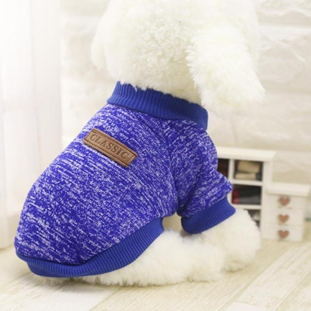 Pet dog clothes for small dogs winter warm coat sweater