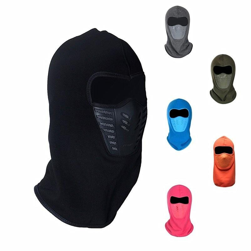 Winter Cycling Face Mask Dust-proof Windproof Warmer Fleece Neck Bicycle Snowboard Ski Full Face