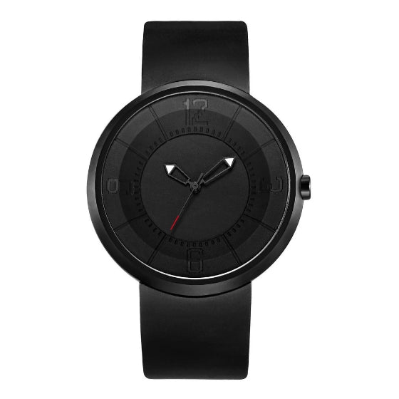 black supreme classic break watch on white background