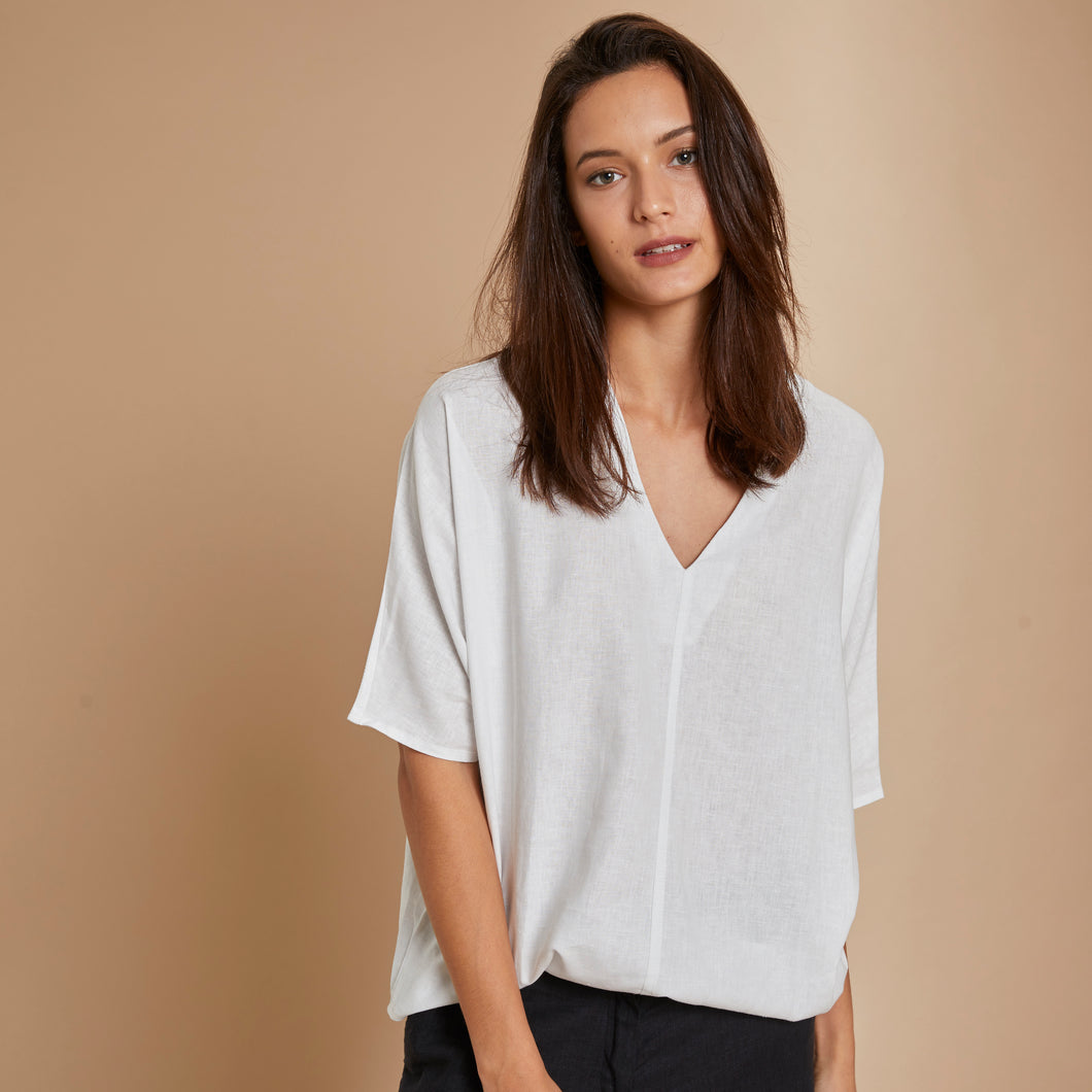 Top Olatz | Lino | Natural