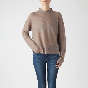 Sweater Full | Baby Alpaca | Taupe