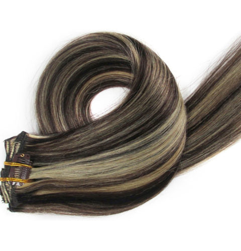 22 inch  Clip In Hair Extensions 100g/pack - IamKiyomi