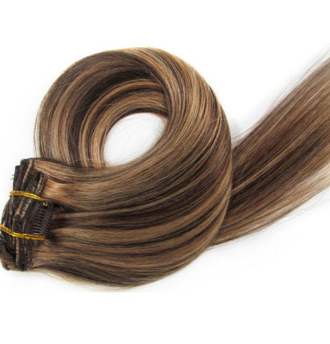 15 inch  Clip In Hair Extensions 70g/pack - IamKiyomi