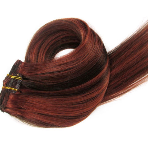 18 inch  Clip In Hair Extensions 100g/pack