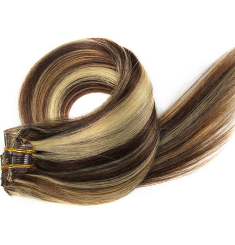 20 inch  Clip In Hair Extensions 100g/pack