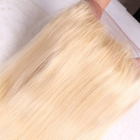 360 Blonde straight Frontal - IamKiyomi