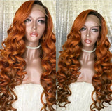 Luxury 120% Density Human Hair  Lace front  Wig - All textures - IamKiyomi
